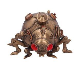 Nemesis Now - STEAMPUNK MODIFIED BEETLE LADYBIRD GOTHIC FIGURINE - Steam Bug