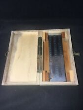 Vintage Precision Gage & Tool Co Fineness Of Grind Gage PB 20 W Box