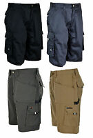 Mens Tuff Stuff Shorts Cargo Combat Pockets Heavy Duty Work Short