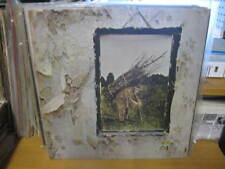 """LED ZEPPELIN LP RECORD 12"""" VINYL GATEFOLD w/INNER/ RECORD HAS ERROR BOTH SIDE A"""