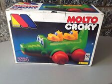Vintage# Molto Croky Crocodile Game Pre School Rare#Nib