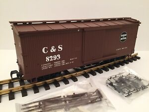 USA Trains R-1976A Colorado & Southern C&S Wood Sided Box Car G Excellent LNIB