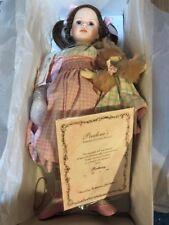 "Pauline Bjonness Jacobsen Doll 19.5"" Brittany Limited 123/950 COA New"