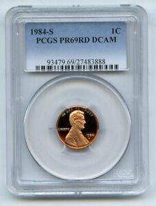 1984 S 1C Lincoln Cent Proof PCGS PR69DCAM