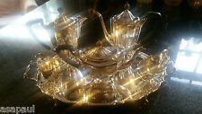 Barker Ellis Silver Six Piece Tea and Coffee Service including Tray 5230g