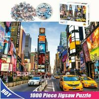 Times Square 1000Piece Difficulty Jigsaw Puzzle Colourful Educational Toys Adult