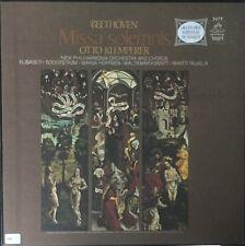 BEETHOVEN-MISSA SOLEMNIS-OTTO KLEMPERER-ORIGINAL 1965 ANGEL 2-LP BOX SET-RARE