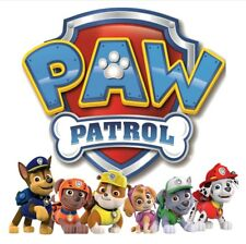 ****************PAW PATROL CHARACTERS******************T-SHIRT IRON ON TRANSFERS