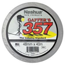 Nashua 357 40m White Gaffa Tape (Single Roll)