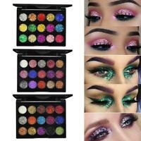 Eyeshadow Cosmetic Makeup Set Shimmer Glitter Eye Shadow Palette Matte J9X3