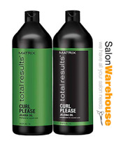 MATRIX Total Results Curl Please Shampoo and Conditioner 1 Litre DUO