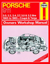 Porsche 911 1965-1985 Ur-G-Modell - Reparaturanleitung workshop service manual