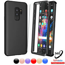 For Samsung Galaxy S9/S7/S8/S10 Plus/Note 9/10 + 360 Hybrid Full Body Case Cover