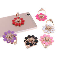 Flower finger ring smartphone colorful metal stand holder phone holder stand PA