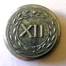 More details for roman spintria (plural spintriae) token (xii) circa 22 to 47 ad