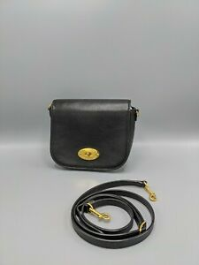 Mulberry Small Darley Satchel Bag In Black Leather
