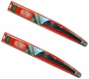 "DUPONT Hybrid Wiper Blades Set 60cm/24"" For Fiat 500 Doblo Panda Punto Ypsilon"