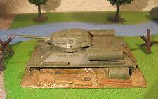 CHAR RUSSE enterré T-34/76 SOVIET TANK - Maquette 1/76 1/72 Model  Peint Painted