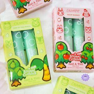ColourPop x Animal Crossing Mini Just A Tint Kit *100% GENUINE* New Lipstick