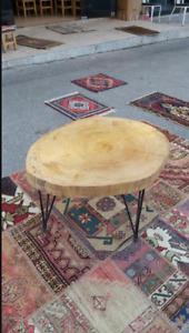 Wooden Table, Vintage Table, Handmade wooden Desk, Walnut Tree Table
