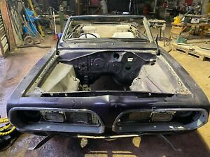 1969 Plymouth Barracuda. Ultra rare RHD Convertible. V8 Mopar A Body Project.