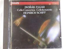 DVORAK / ELGAR - Cello Concertos - Heinrich Schiff - Phillips CD
