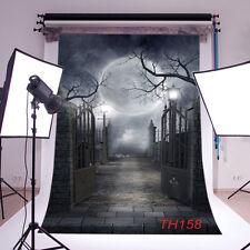 Halloween Thin Vinyl Photography Backdrop Background Studio Props 3X5FT TH158