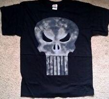 Marvel Official Punisher T Shirt large L Black