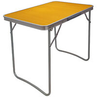 WOODEN PORTABLE TABLE MDF  FOLDING TABLE INDOOR OUTDOOR DINING CAMPING PICNIC