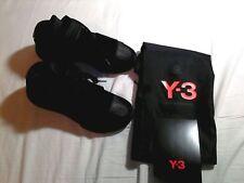 Adidas Y-3 QASA Triple Black Pelle High Yamamoto BB4733 nuove