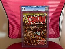 Conan the Barbarian #24 CGC 9.4 White Pages Red Sonja