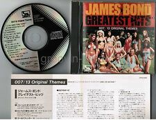 James Bond Greatest Hits 007 JAPAN CD CP32-5046 1B1 w/INSERT 1985 issue Free S&H