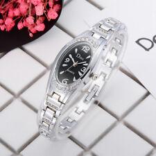Fashion Womens Ladies Watches Crystal Stainless Steel Analog Quartz Wrist Watch