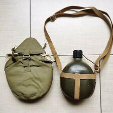 Surplus Chinese Vietnam War Army PLA Type 65 Water Bottle 1L & kettle set-1