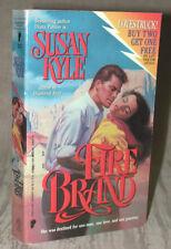 FIRE BRAND by Susan Kyle aka Diana Palmer 1989 1st print PB MINTY Unread! RARE