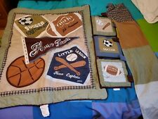 Cocalo Sports Crib Bedding Quilt Comforter Set Home Team Blanket Football 40x34