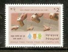 Nepal 2011 'Save Water' Always Keep Hands Clean for Healthy Life stamp 1v MNH