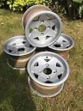 CLASSIC MINI COOPER STARMAG ALLOY WHEELS 10x6 Inch Mk1 Rims