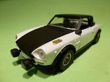 BBURAGO 0137 FIAT 124 ABARTH RALLY - REBUILT MODEL - IN GOOD CONDITION