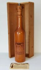 Brentwood Trading Post Large Wood Pepper Mill in Wood Gift Box-Laser Cut Chateau