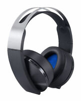 Sony PlayStation 4 Platinum Wireless 7.1 Surround Sound Gaming Headset PS4
