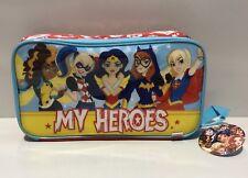 DC COMICS SUPER HEROS GIRLS  ZAK DESIGNS INSULATED KIDS SCHOOL LUNCH BAG