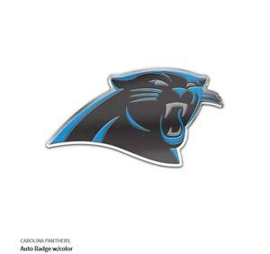 Pantere Della Carolina Auto Distintivo Emblema Adesivo NFL Calcio Di Alluminio