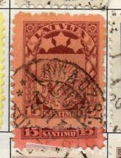 Latvia 1923 Early Issue Fine Used 15s. 182334