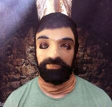 3D Cartoon en plastique effet visage peau lycra tissu Masque Halloween Grim Reaper