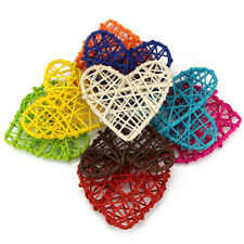 5PCS Colorful Rattan Heart Sepak Takraw DIY Rattan Ball Party Supplies