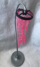 Barbie Dream Doll House Mattel Pink Beaded Floor Lamp 2008 Replacement