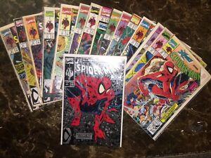 Spider-Man #1-16 1990 McFarlane Run VF