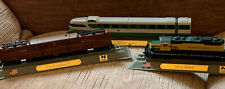 Lot 6 Of 3 X Del Prado Static Locamotive Trains Models Die Cast