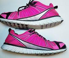 Fila Running Shoe Training Sneakers Women's Sz 10 Pink Black Silver 5Sr20500-652